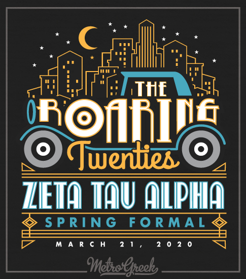 Zeta Roaring Twenties Formal Shirt