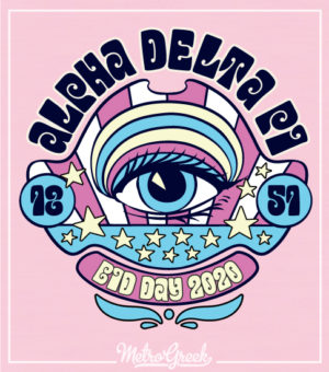 Alpha Delta Pi Sixties Bid Day Shirt