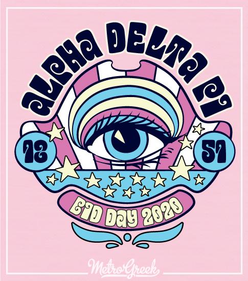 Alpha Delta Pi Sixties Bid Day Shirt