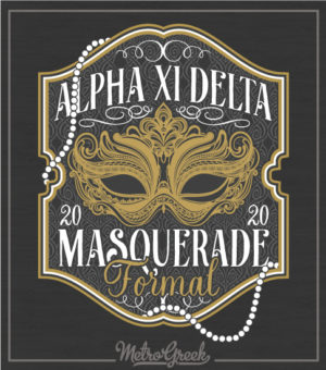 Alpha Xi Delta Masquerade Formal Shirt