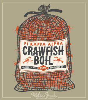 Crawfish Boil Shirt Pi Kappa Alpha