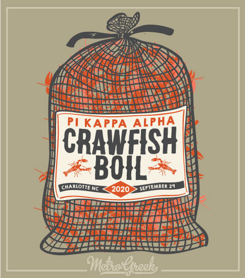 Crawfish Boil Shirt Pi Kappa Alpha