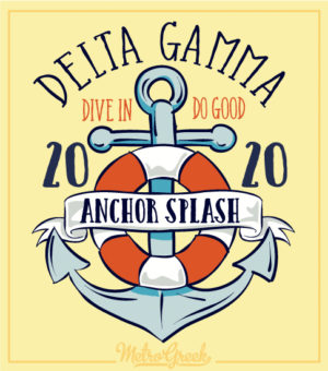 Delta Gamma Anchor Splash Shirt