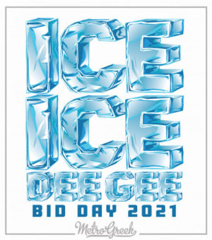 Ice Ice Bid Day Shirt Delta Gamma