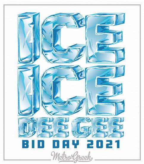 Ice Ice Bid Day Shirt Delta Gamma