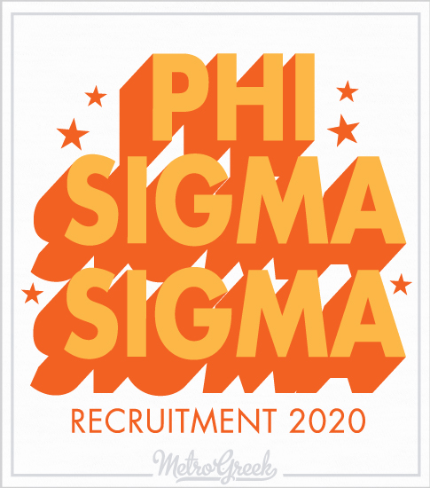 Phi Sigma Sigma Recruitment Shirt