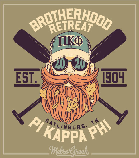 Pi Kapp Brotherhood Retreat Shirt