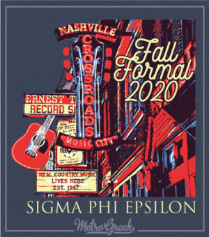 Sig Ep Nashville Formal Shirt