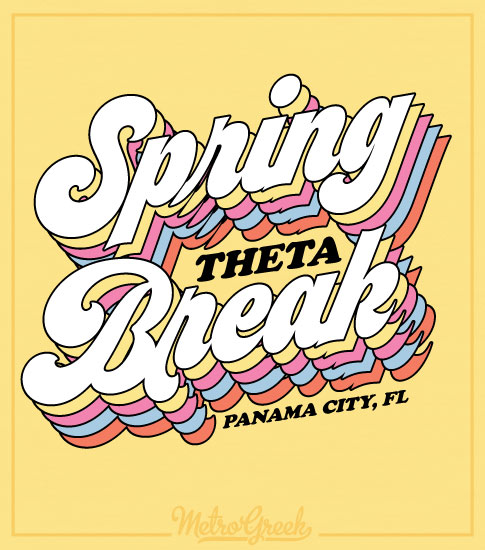 Kappa Alpha Theta Spring Break Shirt