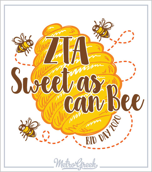 Zeta Tau Alpha Sorority Recruitment Shirt