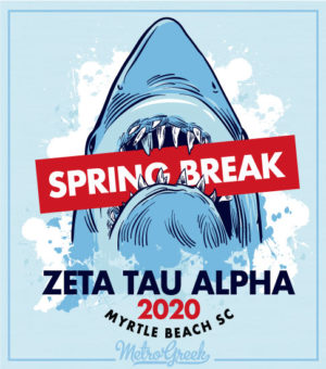 Zeta Tau Alpha Spring Break Shirts
