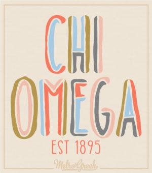 Chi Omega Spirit Bid Day Shirt