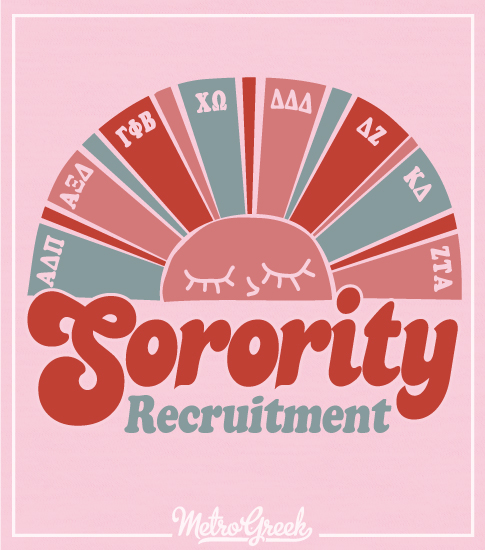 Sorority Recruitment Shirt Sunshine