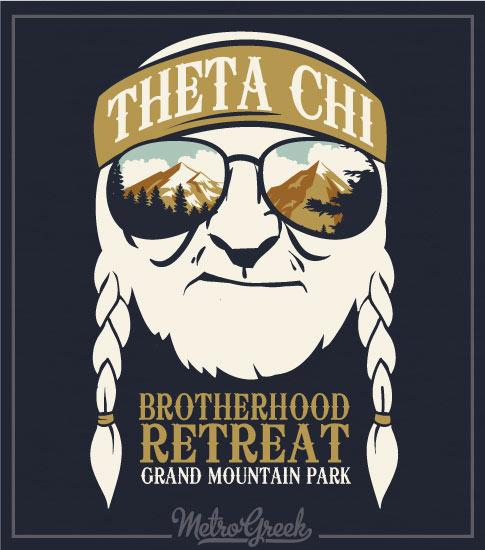 Brotherhood Retreat Shirt Theta Chi
