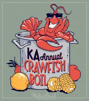 Crawfish and Seafood Boil Shirt