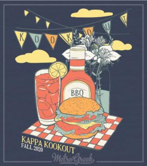 Kappa Kappa Gamma Kookout Shirt