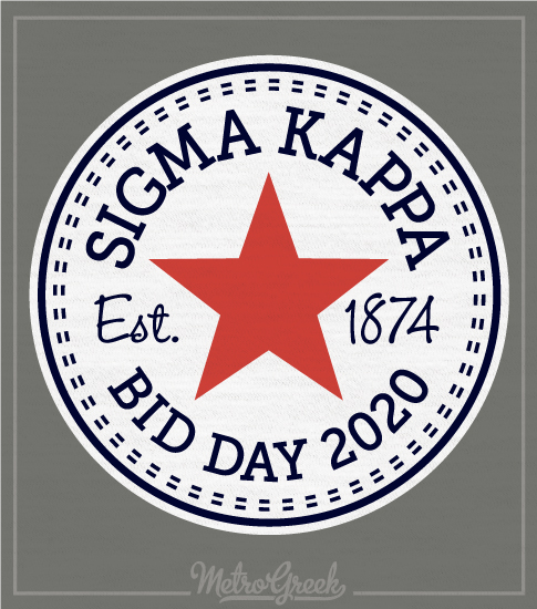 Sigma Kappa Bid Day Shirt