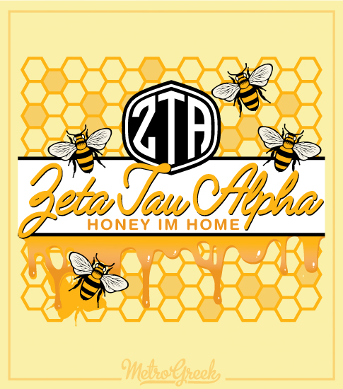 Zeta Honey I'm Home Bid Day Shirt