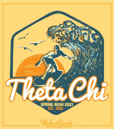 Fraternity Rush Shirt Theta Chi