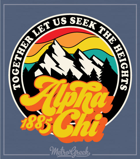 Sorority Mountain Bid Day AChiO Shirt
