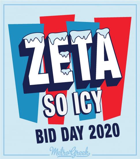Zeta Tau Alpha Bid Day Shirt