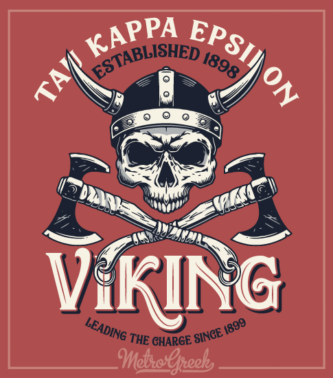 Viking Party T-shirt Teke