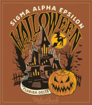 Fraternity Halloween Shirt House