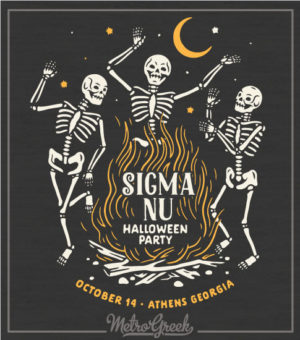 Fraternity Halloween Shirt Sigma Nu