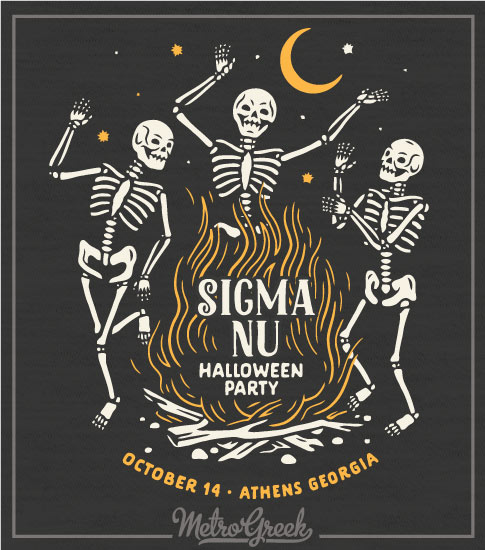 Fraternity Halloween Shirt Sigma Nu