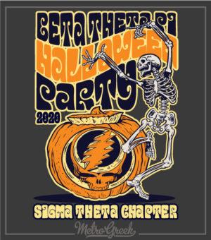 Halloween Party Shirt Skeleton