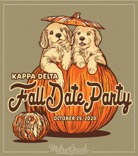 Kappa Delta Fall Pumpkin Party Shirt