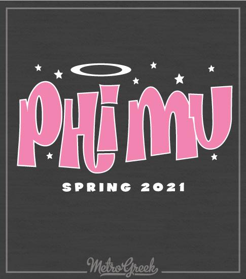 Phi Mu Sorority Shirt