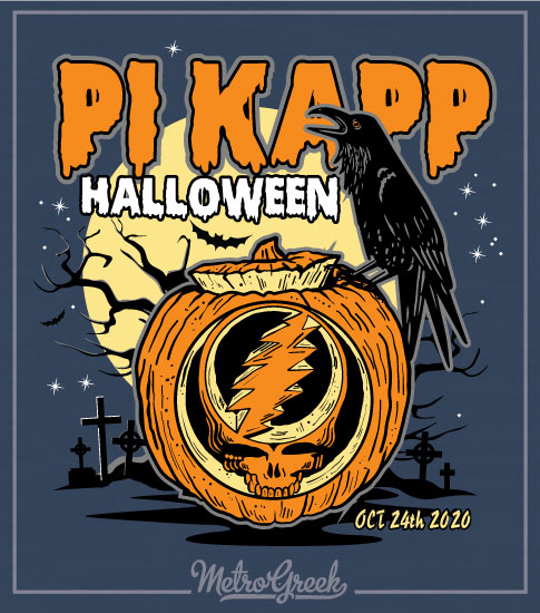 Pi Kappa Halloween Shirt