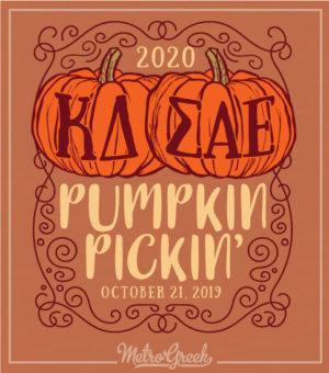Kappa Delta Pumpkin Picking T-shirt