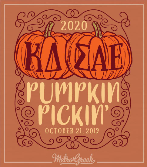 Kappa Delta Pumpkin Picking T-shirt