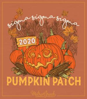 Tri Sigma Pumpkin Patch T-shirt