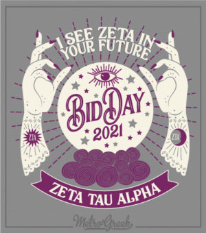 Bid Day Shirt Fortune Teller