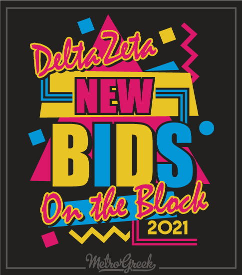 Retro New Kids Bid Day Shirt