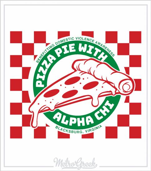 Pizza Philanthropy T-Shirt AChiO
