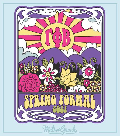 Spring Formal Shirt Retro Sixties