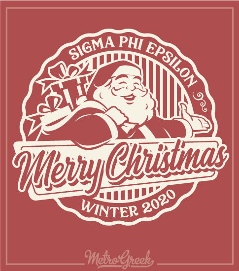Tacky Christmas Fraternity Shirt