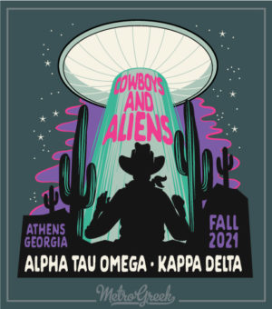 Cowboys and Aliens Shirt Fraternity