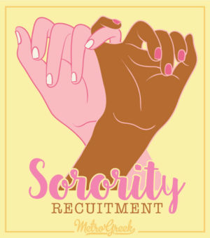 Panhellenic Sorority Recruitment Shirt
