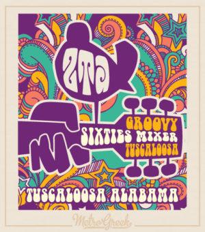Sorority Hippy Sixties Party Shirt