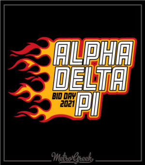 Bid Day Shirt Alpha Delta Pi