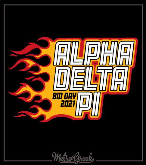 Bid Day Shirt Alpha Delta Pi