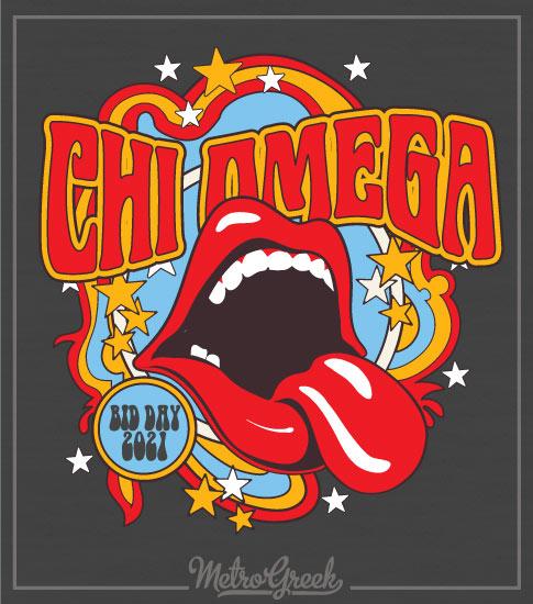 Chi Omega Sorority Bid Day Shirt