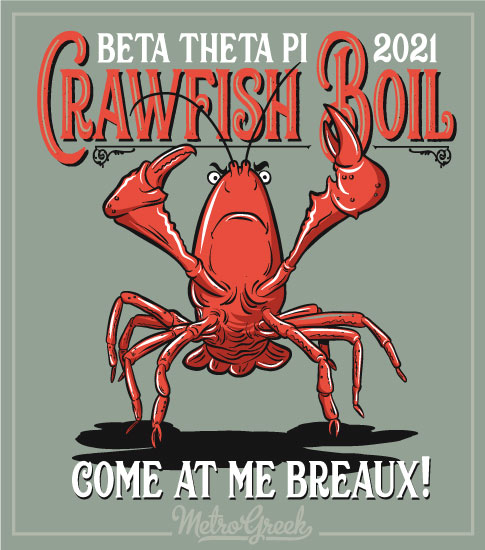 Crawfish Boil Shirt Come at Me