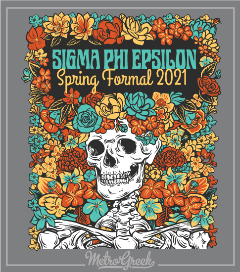 Fraternity Formal Shirt SigEp Skeleton