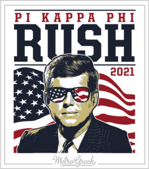 Kennedy Fraternity Rush Shirt Pi Kapp